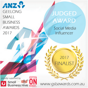 Geelong Small Business Awards Finalist