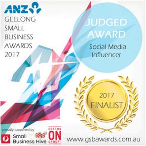 Geelong Small Business Awards Finalist